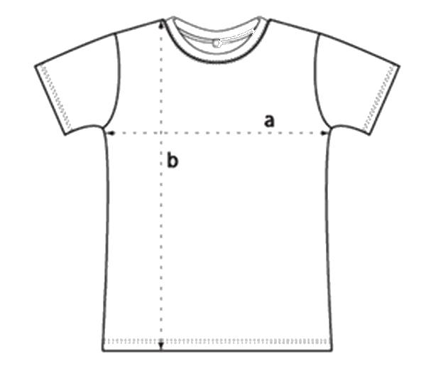 Guide des tailles des T-shirts